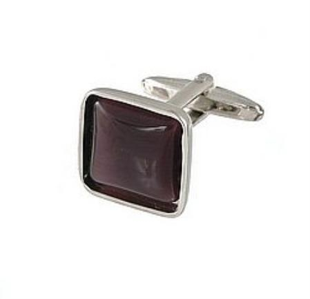 SKU#GT456 Cufflinks Silver My 0024S Purple $39