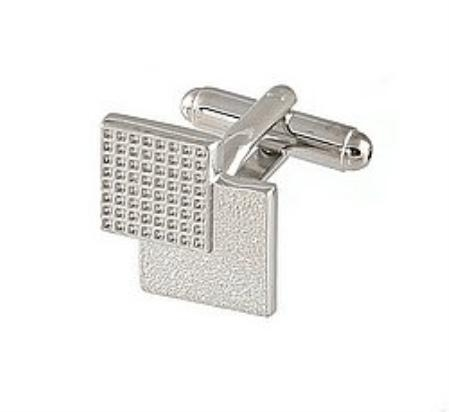 SKU#PK389 Cufflinks Silver Vs 019 $39