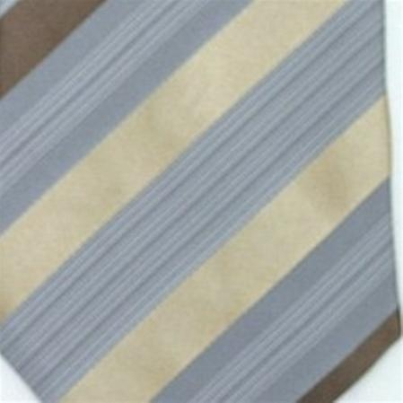 SKU#SW431DL  Silk Grey/Beige/Mocha/White Extra Long Silk Woven Necktie $39