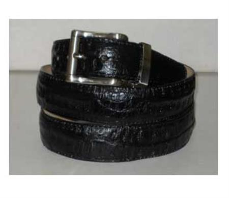 Genuine Authentic Black Crocodile