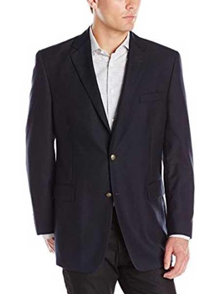 Mens Black 2 Button Cheap Priced Designer Fashion Dress Casual Blazer For Men On Sale Modern Fit Notch Collar Classic Blazer