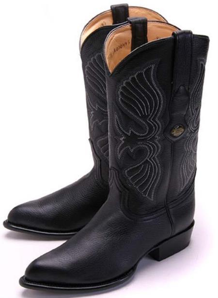 Leather Black Los Altos