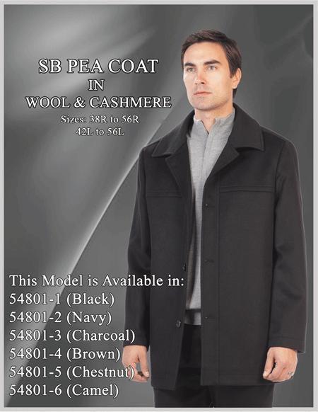 tan cashmere overcoat