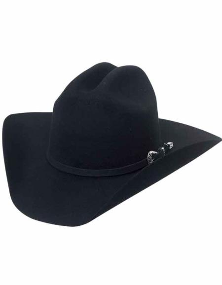 Lana Negro Cowboy Black Hat