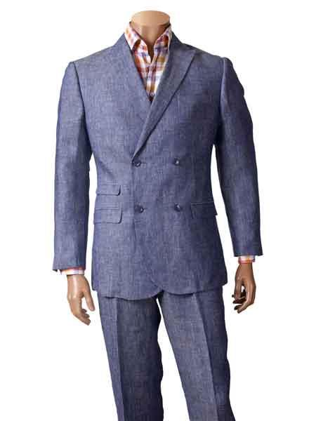 100% Linen Suit With
