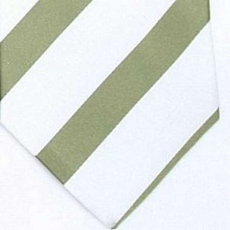 SKU#SW447E  Silk White/Mint Woven Necktie $39
