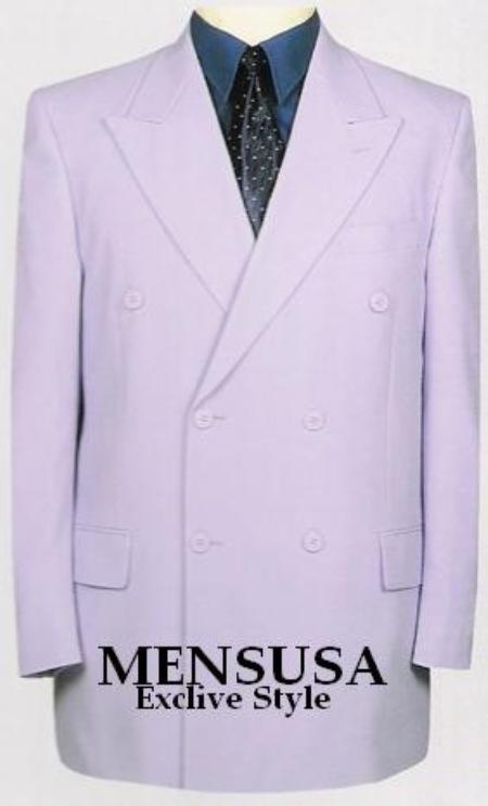 SuitUSA MENS WHITE 6 BUTTON DB PEAKED LAPEL TUXEDO SUIT at Sears.com