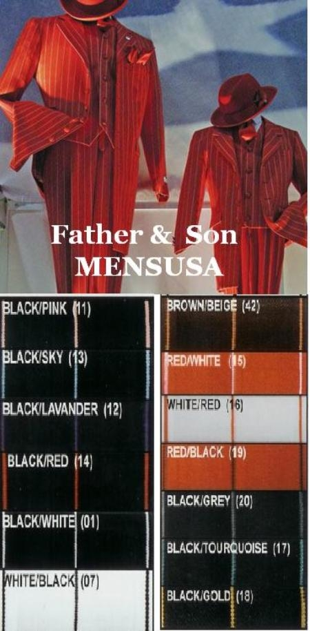 SKU#MUPT93282 FATHER AND SON MATCHING SUIT 3Pc. Compose suit with vest $185