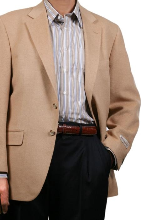 SKU#YP9064 Fall/Winter Mens Sport Coat Camel ~ Khaki