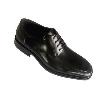 Faux Leather Fashion Dress Shoes Black