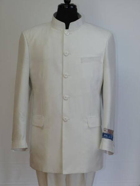 SKU#GV3776 Fela Rio Business Suits Collection Off White $195