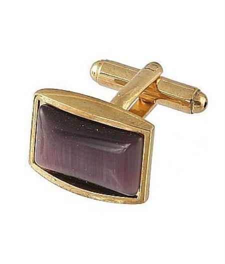 Buy Xk 0111G Ferrecci Favor Brown Cuff Links Set Fancy Gift Box