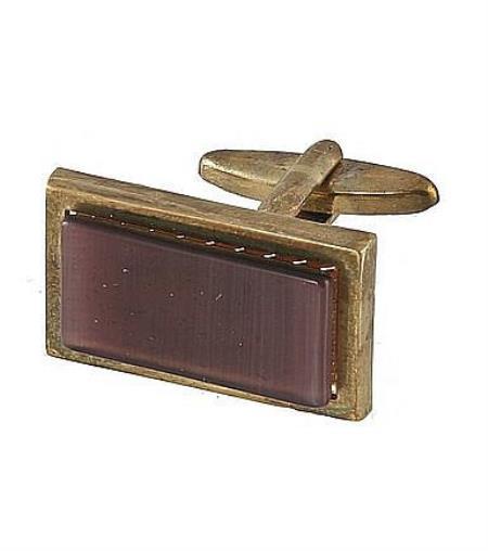 Mens Ferrecci Favor Purple Cuff Links 3Pcs Set With Fancy Gift Box