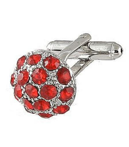 Buy Xk 0068S Ferrecci Favor Red Cuff Links Set Fancy Gift Box