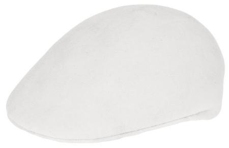 SKU#LS4976 Ferrecci Mens Wool Off White Drivers Cap $49