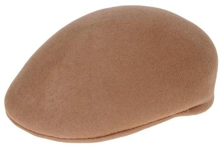 SKU#YD8946 Ferrecci Mens Wool Tan Drivers Cap $49