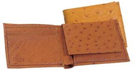 Genuine Smooth Ostrich Wallet