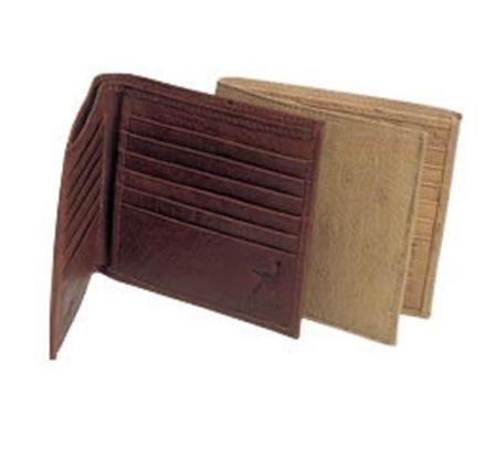 SKU#TX6734 Ferrini Smooth Ostrich Hipster Wallet