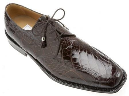 SKU#DF4068 Ferrini Black Cherry All-Over Genuine Alligator Shoes $729