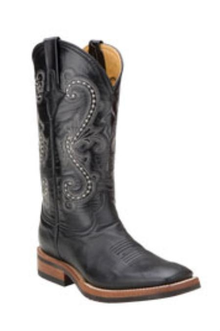 SKU#ET715 Ferrini Mens Kangaroo Leather S-Toe Boots $216