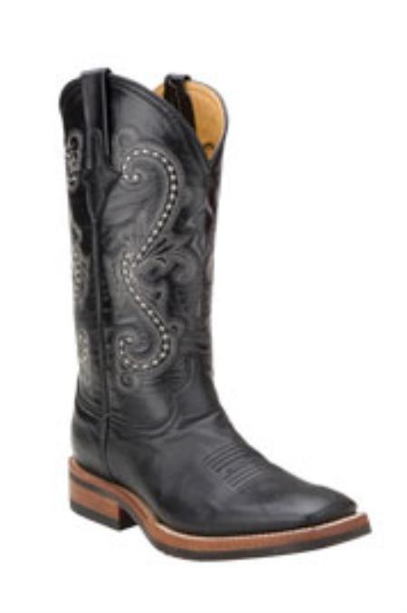SKU#ET715 Ferrini Mens Kangaroo Leather S-Toe Boots $216