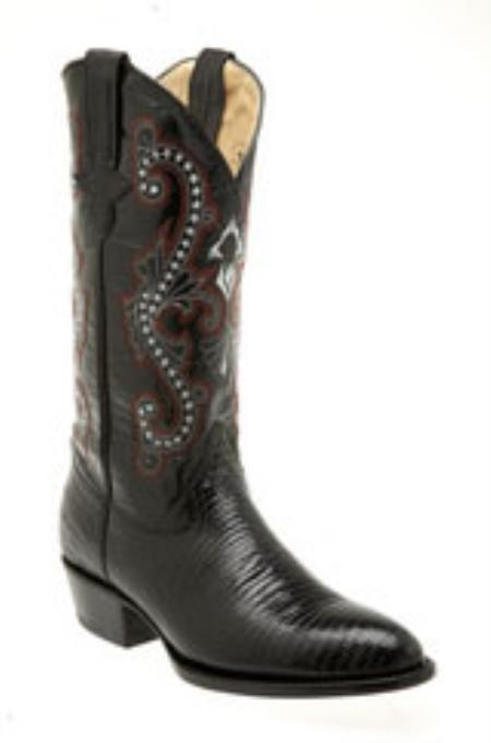 MensUSA Ferrini Mens Teju Lizard R Toe Boots at Sears.com