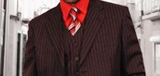 Festive color suits