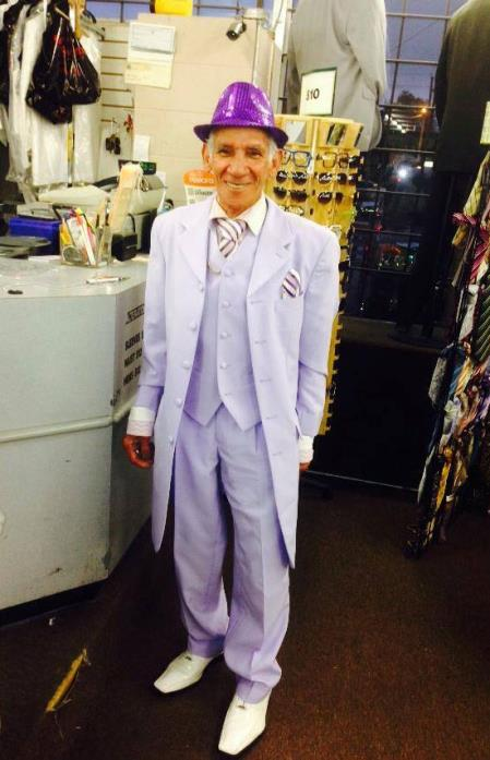 Alberto Nardoni Lavender ~ Lilac Zoot Suit 3 Pieces Vested 3 Pieces Fashion suit (Pre order Available to ship December/1/2019)