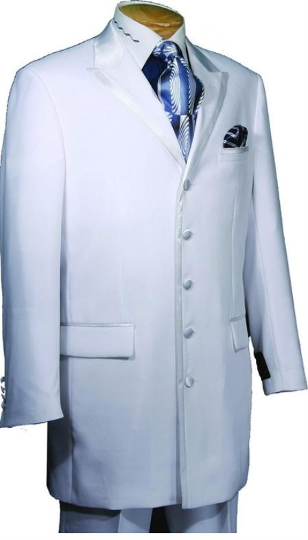 SKU#BP658 Mens High Fashion 5 Button Tuxedo
