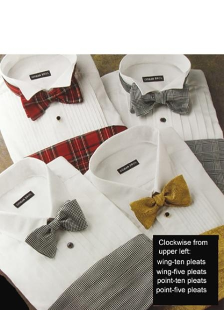 Gitman Formal Tuxedo Shirts Regular Sizes $100