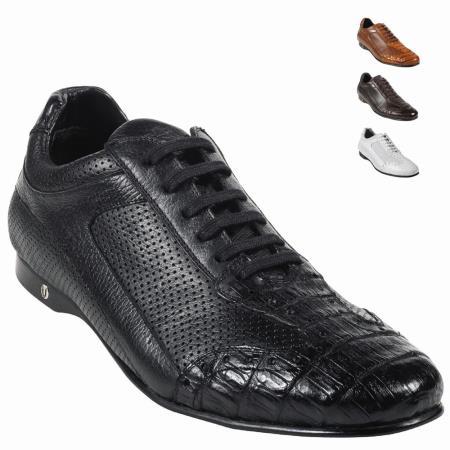 Belly Skin Shoe Black