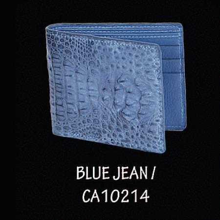 ~ alligator Hornback Leather