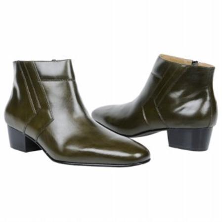 SKU#OL639 Giorgio Brutini Mens Olive Boots