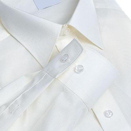 SKU#011WFPT10 Gitman Solid White Point Collar Non-Iron Dress Shirt $75