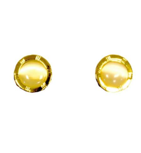 Buy CF011-G Ferrecci Gold Favor Cuff Links 2pieces Set Fancy Gift Box