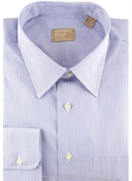 Gitman Gold Tech Twill Stripes Light Blue On Sale: $115