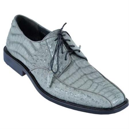 Gator Skin Dress Shoe – Gray
