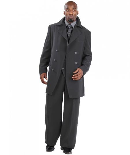 Three Piece Vested Double