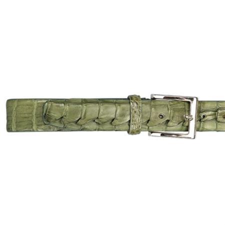 Green Hornback Belt