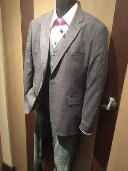 Grey Notch Lapel 2