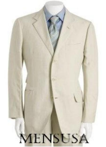 SKU# TVV883 Highest Quality Ivory /OFF White Suit On The Palnet Made of Ultra Super Light Weight Soft Wool $299