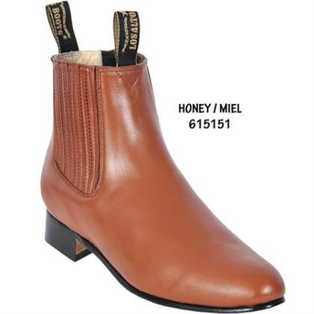 Short Boot – Honey