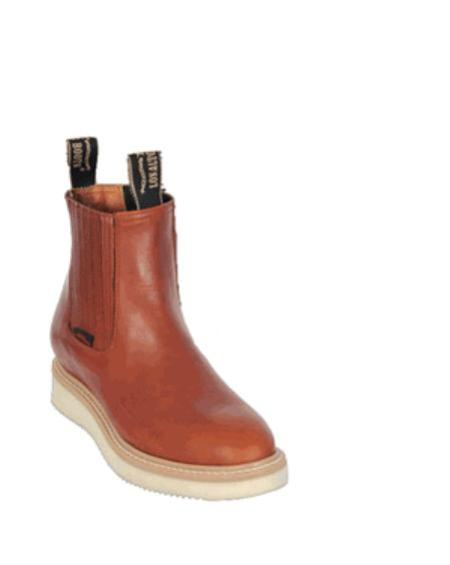 SKU#KA1114 Mens Los Altos Short Work Boot