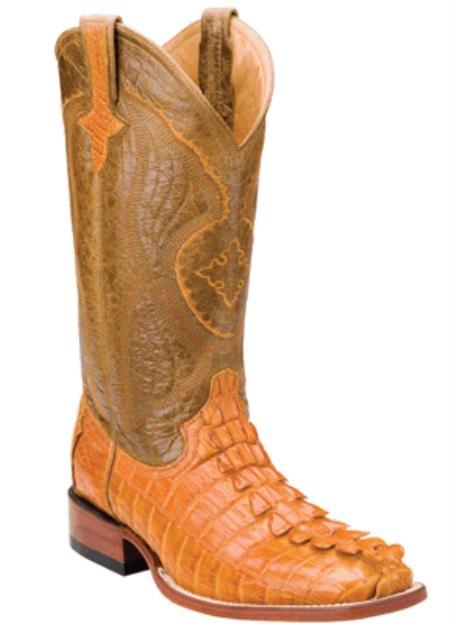 SKU#YK1099 Hornback Nile Crocodile ~ Alligator - Buttercup-S Toe