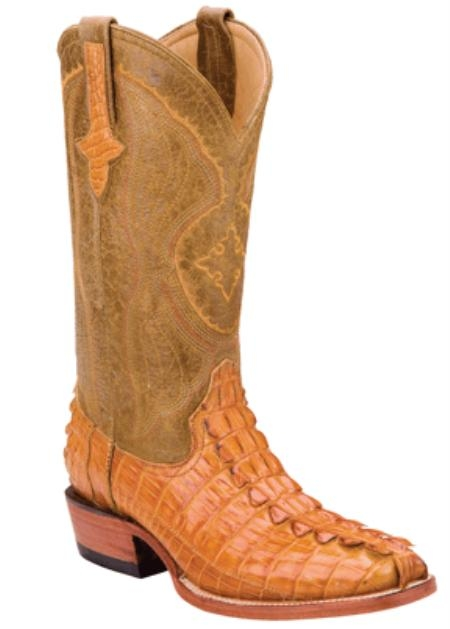 SKU#OD8378 Hornback Nile Crocodile - Buttercup-D Toe $459
