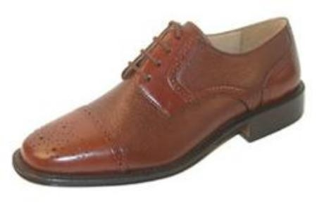 SKU# VJR482 India Captoe blucher Leather Upper Leather Soler $99