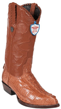 West J-Toe Cognac caiman