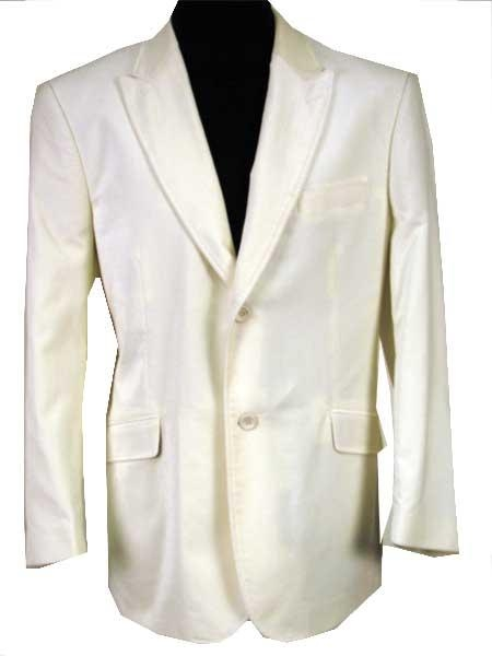 SKU#RT532 LB-313 Solid Offwhite Velvet Sport Coat This Jacket Is A Winner 2 Button $99