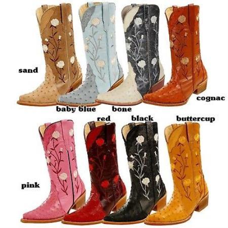 Western Cowboy Ladies Boots