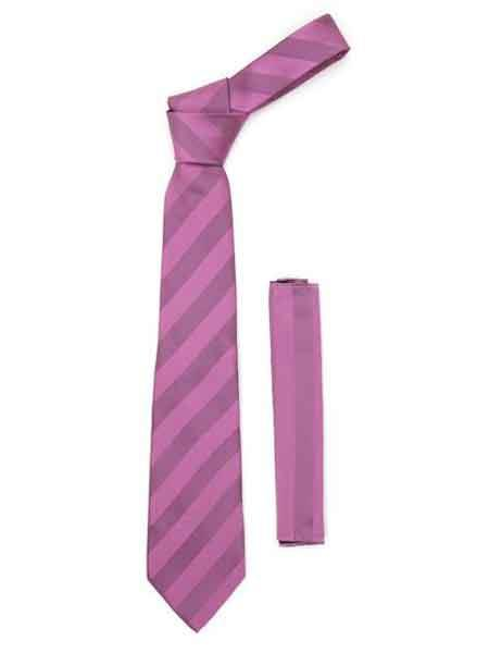 Striped Fashionable NeckTie With